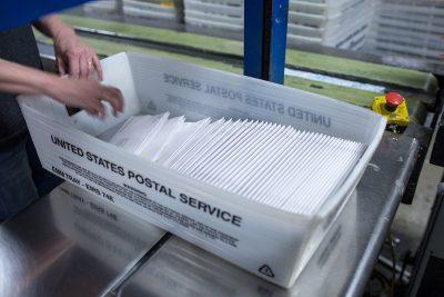 postal Tray